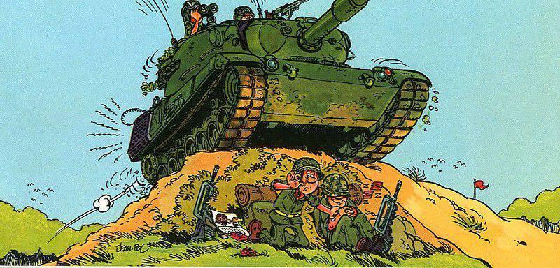 Картинки с юмором про танки