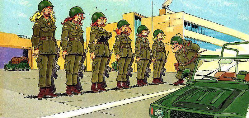 Открытки, картинки с приколом про военных