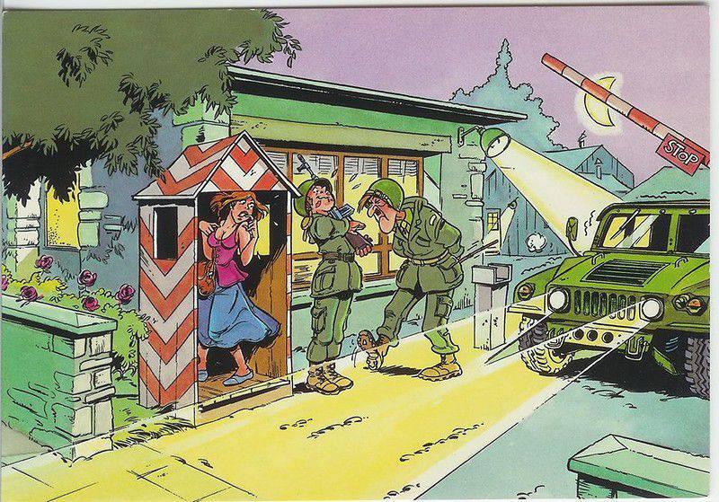 Тему, приколы для военных открытки