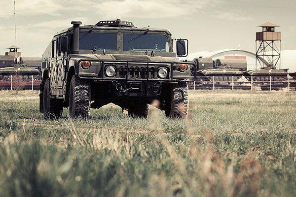 テスト運転HMMWV M1151A1