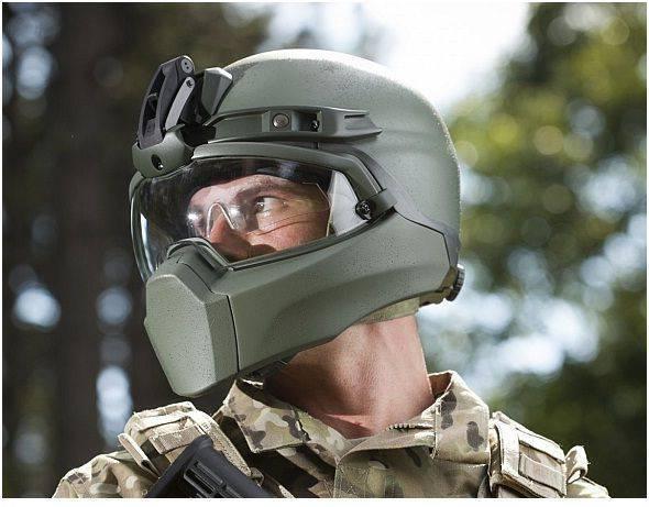 Photo: façonner éventuellement le futur casque militaire américain / US Navy Research Laboratory
