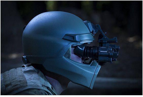 사진 : 새로운 헬멧은 NVG / US Navy Research Laboratory와 호환되어야합니다.