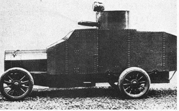 Zırhlı araç FIAT Arsenale Mod.1912 (İtalya)