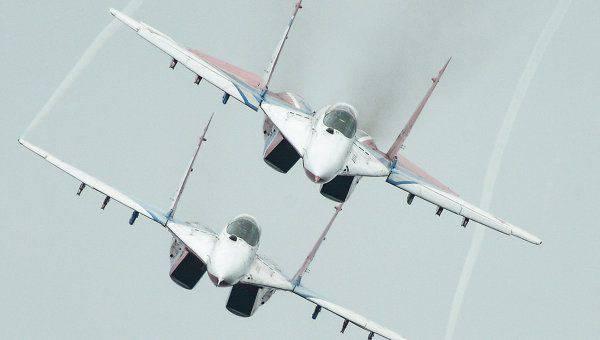 Les journalistes occidentaux ont admiré l'incroyable décollage du MiG-29