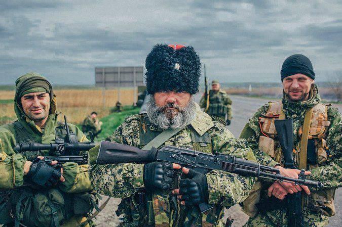 Il cosacco Babai è tornato a casa da Donbass