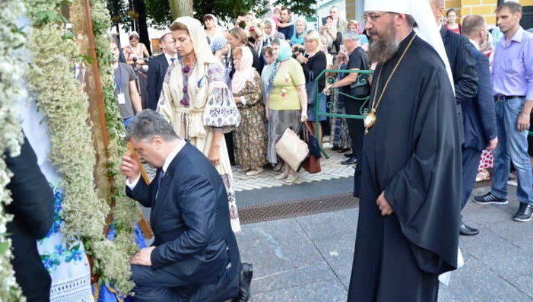 """Poroshenko: Il battesimo di Rus è una """"scelta europea consapevole dell'Ucraina"""""""