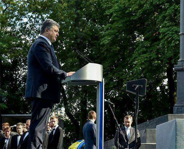 "Poroshenko ha chiesto all'Occidente: ""Sei un barbaro? .."" e ha chiesto agli USA 1240 ""Javelins"""