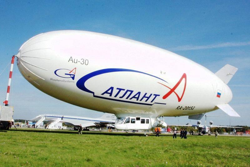 KRETは飛行船に設置するための新しいアンテナシステムを開発しました