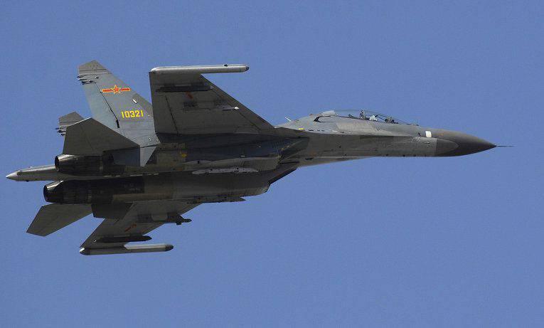 러시아어, 카자흐어, 중국어 조종사가 Aviadarts 직전 비행 준비 비행