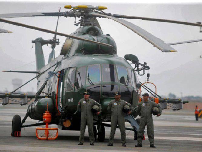 ペルーに送られたMi-171Shの別のバッチ