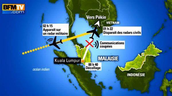 マレーシア当局は、2014の3月に消失したボーイングの一部が再会で発見されたと述べました