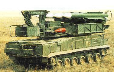 Sistemas de misiles antiaéreos de la familia Buk.