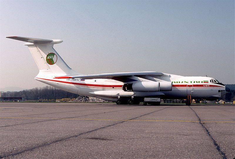 Cattura di aerei russi in Afghanistan