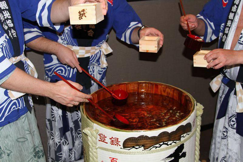 Сакэ - напиток богов и японцев