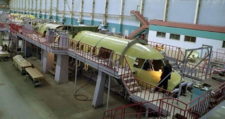 Samara Aviakor sospende la produzione di An-140