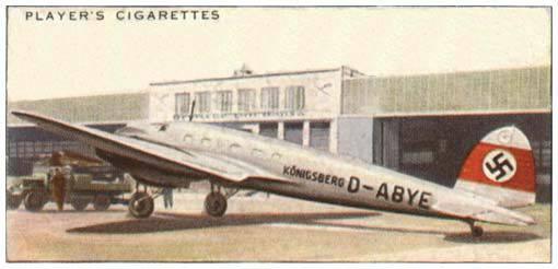 Heinkel He-xnumx. 111'in bir parçası. Doğumdan İspanya'ya