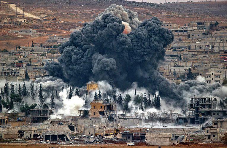 오바마 대통령은 미 공군이 시리아의 국방부가 준비한 야당을 방어 할 수있게했다.