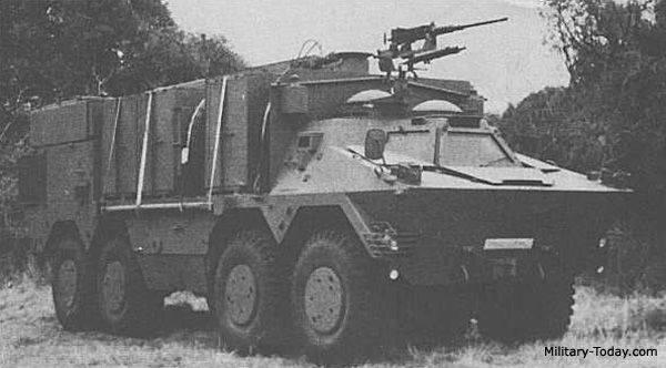 Le projet d'un véhicule de transport blindé Ratel Logistic (Afrique du Sud)