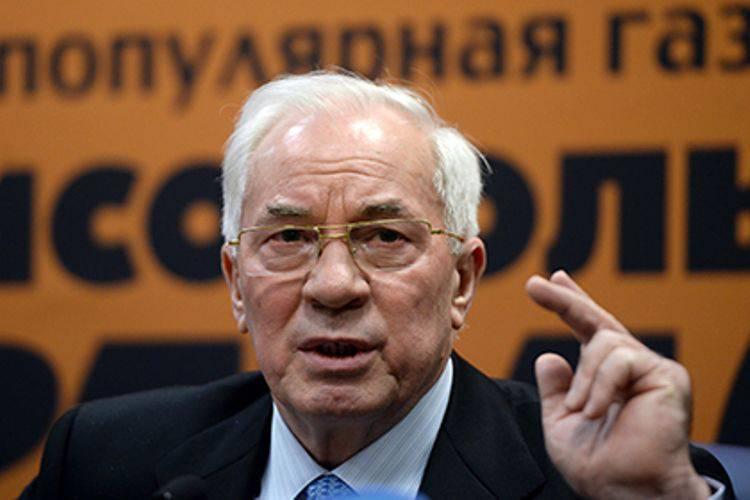 "Azarovsky ""救助委員会""はウクライナで早期の大統領選挙を求める"