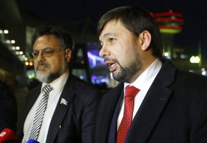 DNRとLC:機器撤退の問題によりキエフの交渉担当者は停止した