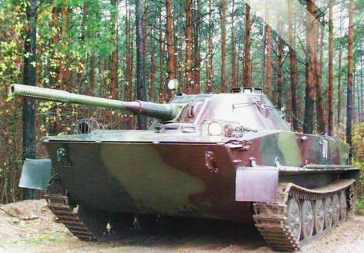 Sovyet amfibi tankının Belarus modernizasyonu