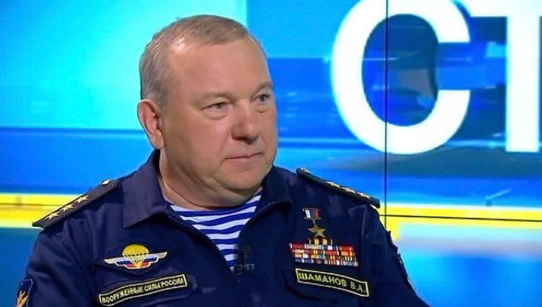 Shamanov: Airborne è pronto ad aiutare l'esercito siriano