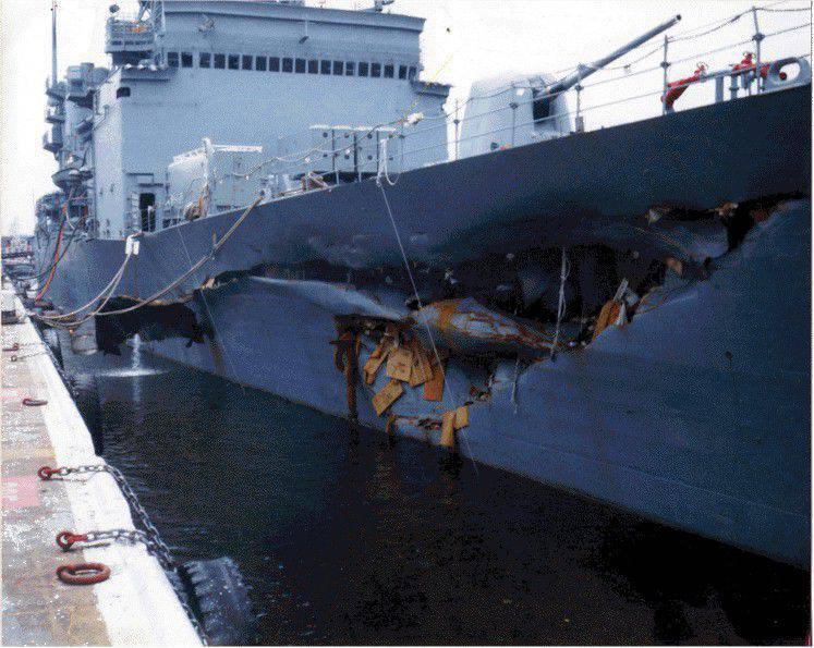 미국 해군에서의 사고