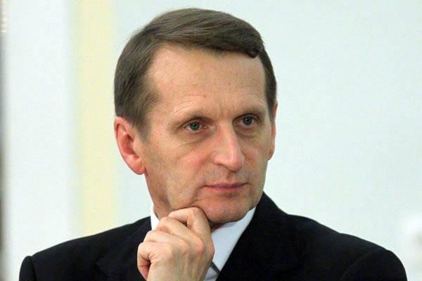 Sergey Naryshkin. Ağustos provokasyonları