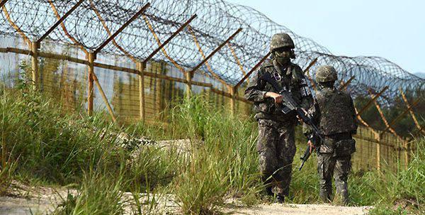 북한과의 국경에서의 한국 도발