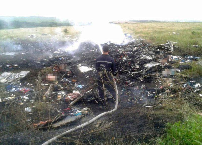 "Dutch ""experts"" in the second year of the investigation found ""an important find"" at the crash site of ""Boeing"" near Donetsk"