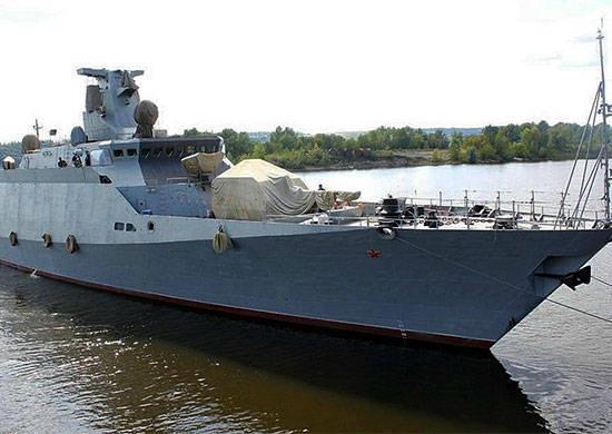 """La flotta del Mar Nero ha ricevuto per testare una piccola nave missilistica """"Serpukhov"""""""