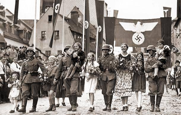 유럽이 히틀러를 도왔다.