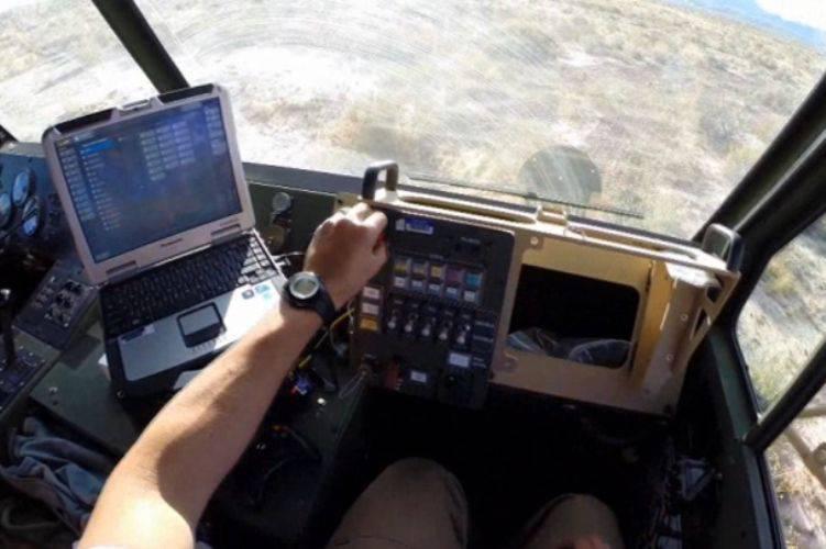 UAV abbattuto in trapani laser negli Stati Uniti