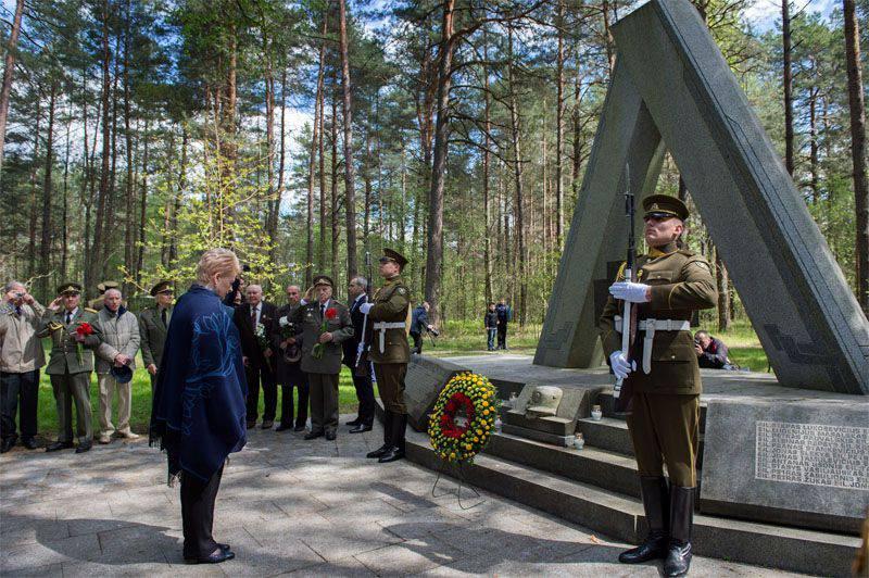 """""""젊은 라이플 맨 캠프""""에서 리투아니아 대통령은 """"모든 국적의 시민들""""이 리투아니아를 보호 할 것이라고 선언했다."""
