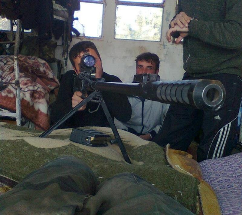 러시아에서 사랑을. 시리아 저격 소총 OSV-96