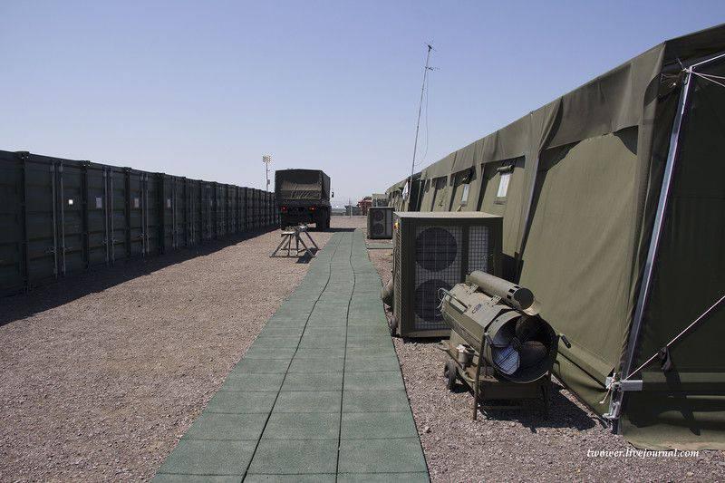 러시아 군의 자치 캠프 - APL-500