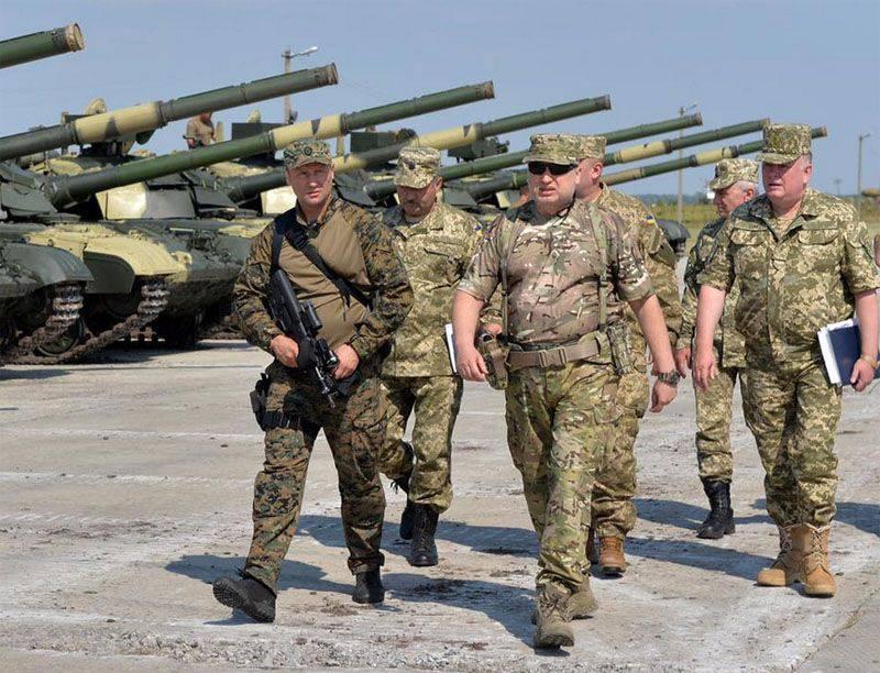 "Turchinov는 우크라이나의 남동쪽에있는 비상 사태의 ""가능성""을 되풀이했다."