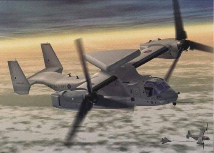 L'Inde et le Royaume-Uni envisagent de commander des AWACS sur la plateforme Osprey