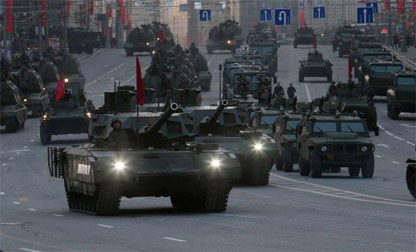 """2А82 top T-14 """"Armata"""" etrafında mızrak kırma"""