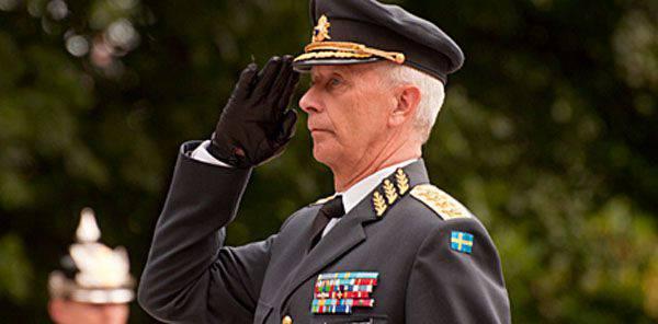 İsveç Silahlı Kuvvetleri Baş Komutanı, Rusya'nın İsveçliler için bir meydan okuma olduğunu, ancak bir tehdit olmadığını belirtti.