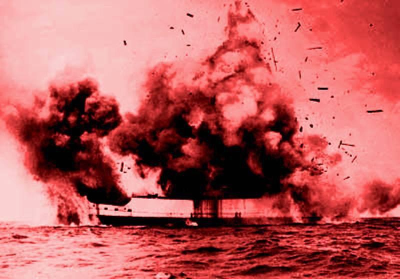 Esplosione in bremenhafen