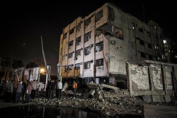 카이로 교외에서의 테러 공격