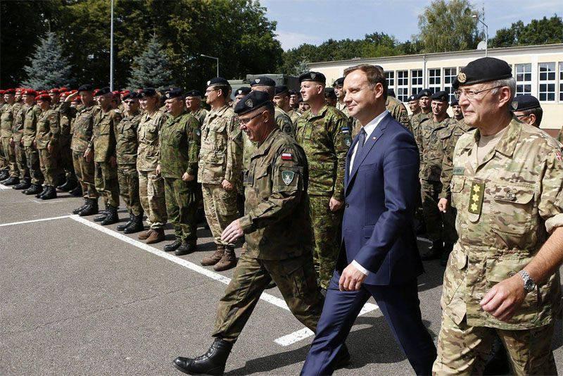 Presidente polonês Duda diz que vê ameaça na Rússia