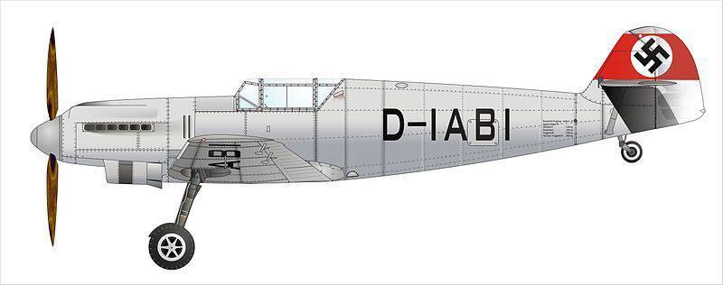 Messerschmitt Bf 109. Zor başlangıç