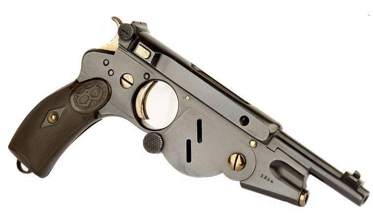 Pistola Bergmann No.2 Modello 1896 dell'anno (Bergmann No.2)