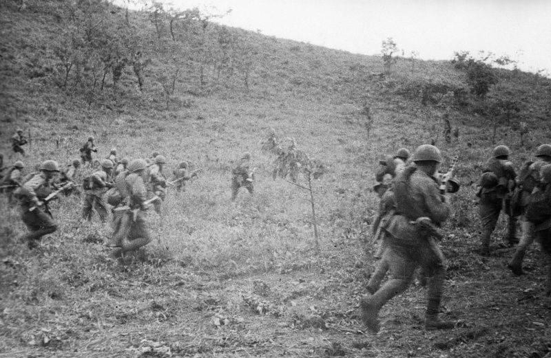 Sfondamento della difesa dell'esercito di Kwantung