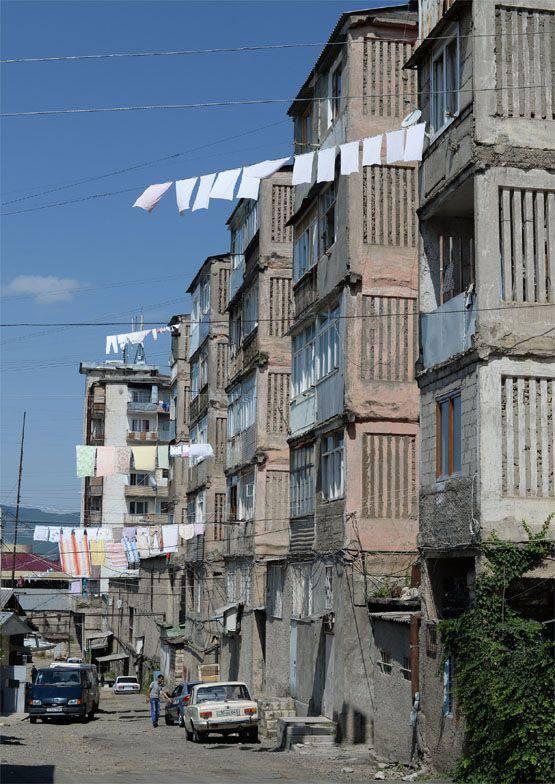 Nagorno-Karabakhにおける状況の悪化