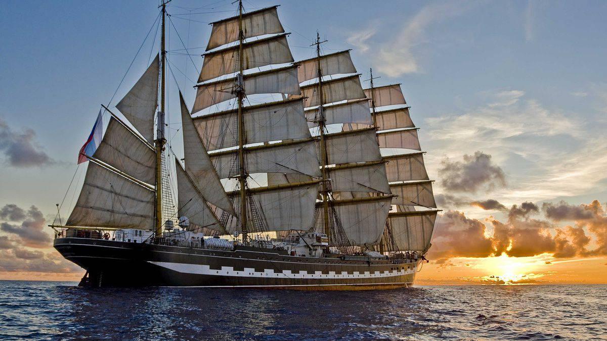 Парусные и другие корабли видео
