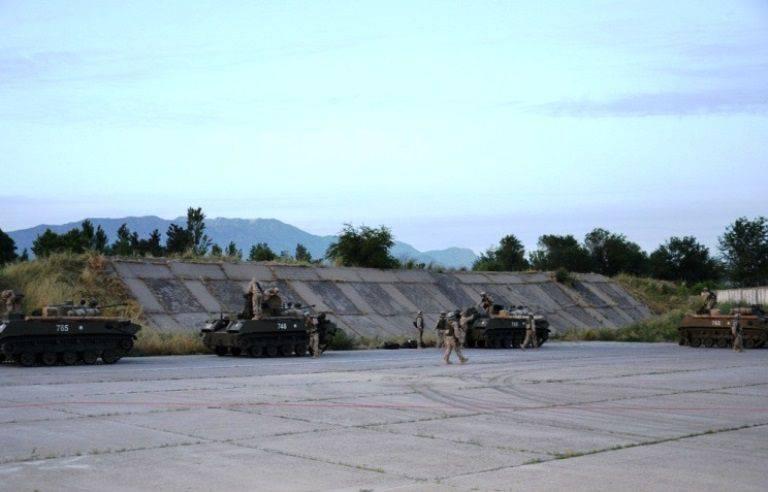 Kuvvetlerin ve araçların CSTO'ya devri için hava grubu oluşturacak