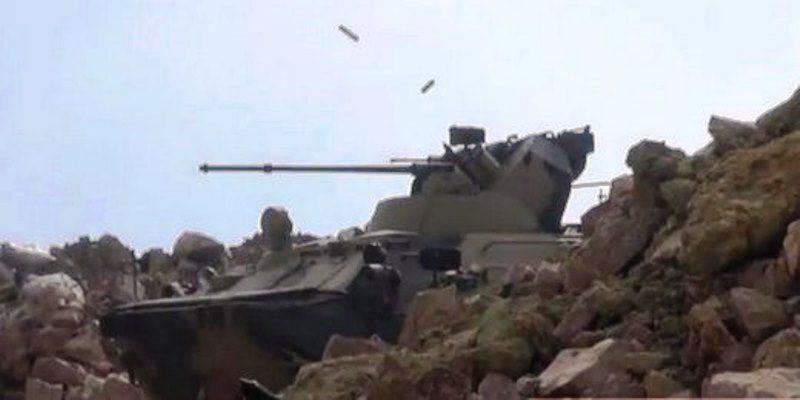 シリアで見られるロシアのBTR-82